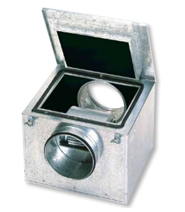 Resim S&P CAB-400 Akustik İzolasyonlu Kabinli Kanal Fanı