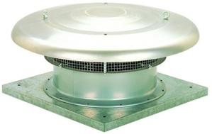 Resim S&P HCTB 4-1000 B Yatay Atışlı Çatı Fanı