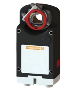 Resim Gruner 363-230-40 Yay Geri Dönüşsüz Damper Motoru (40Nm)