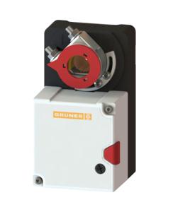 Resim Gruner 227-230-15-S1 Yay Geri Dönüşsüz Damper Motoru (15Nm)
